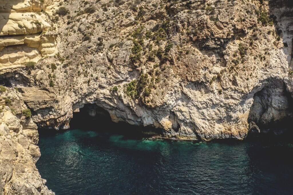 Spännande landskap på Malta