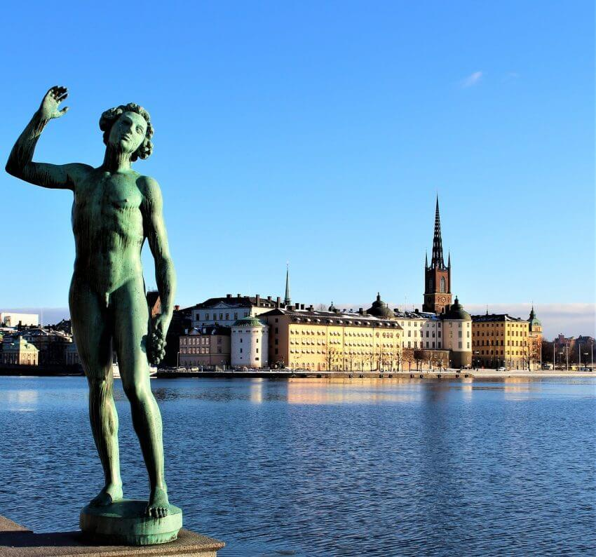 Utsikt från Stockholms Stadshus