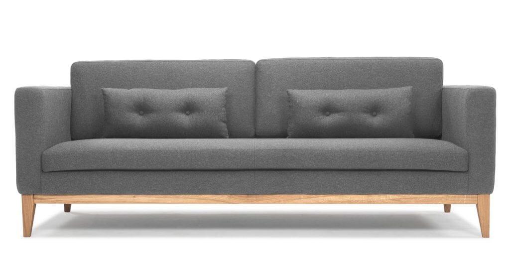 Soffa Day ljusgrå – precis så vill jag sitta!