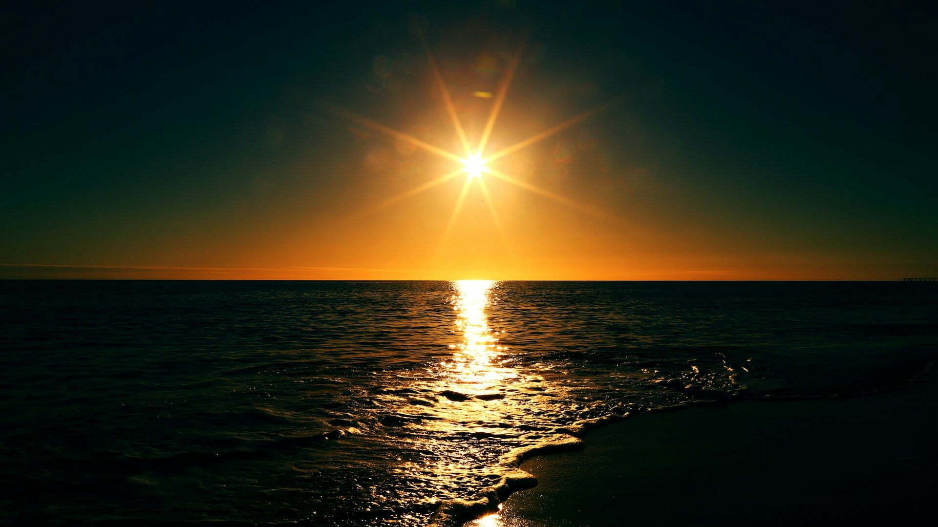 Vintertid men med solsken
