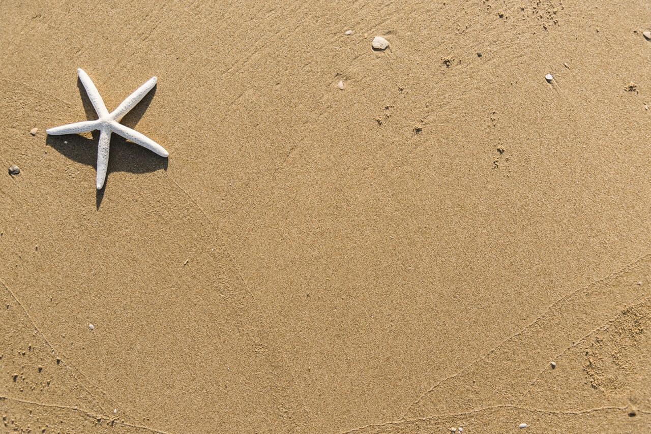 Sandstrand på Kanarieöarna