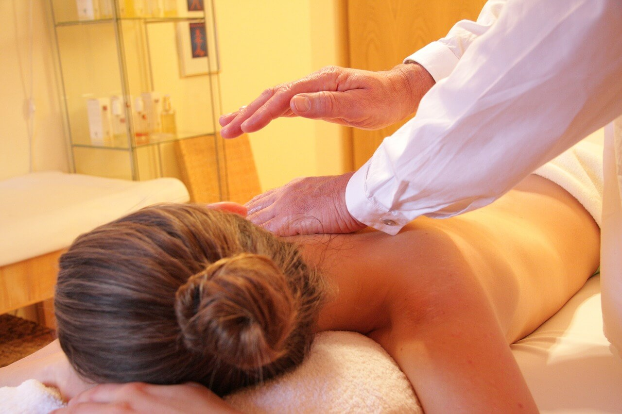 Härligt med massage.