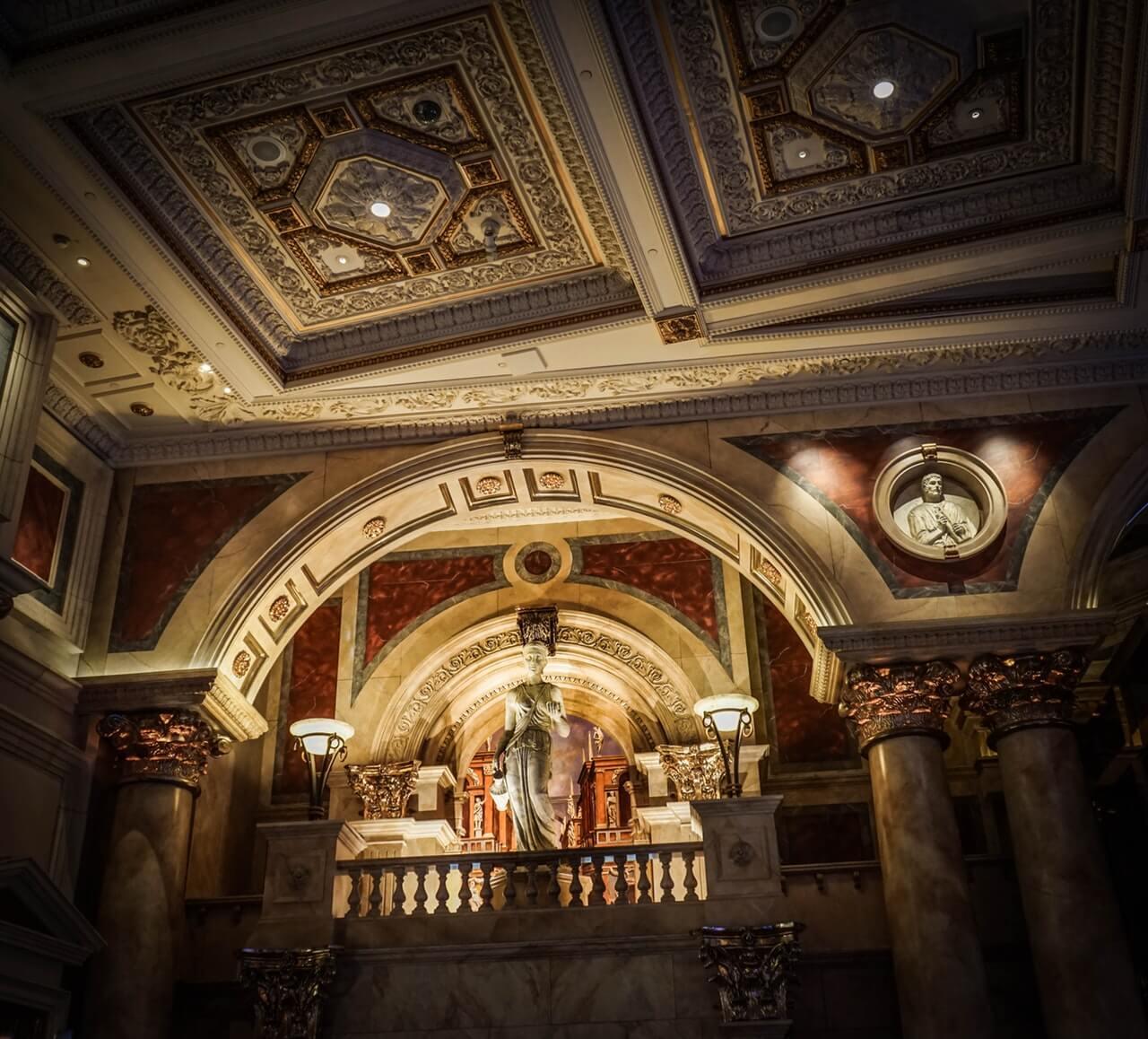 Ceasars Palace: Hotellet som Celine Dion spelat på i 16 år.