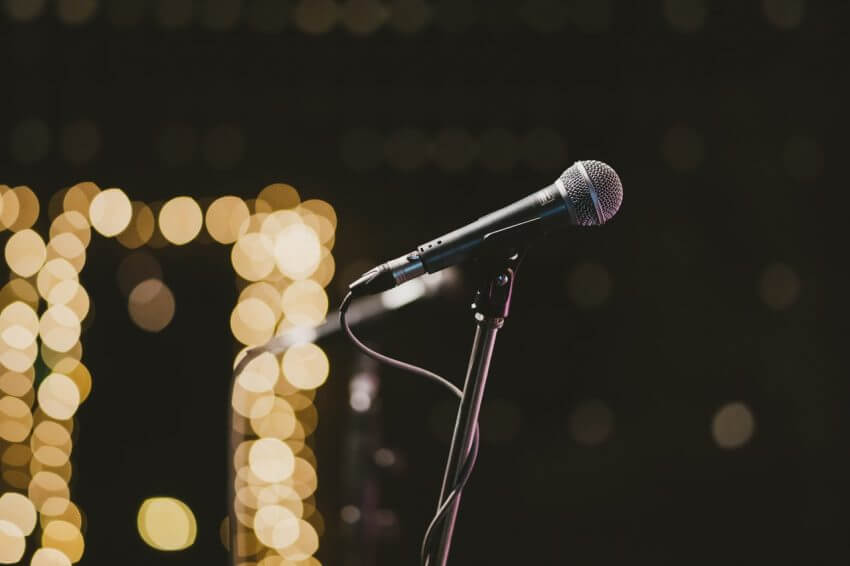 Mikrofon i Las Vegas