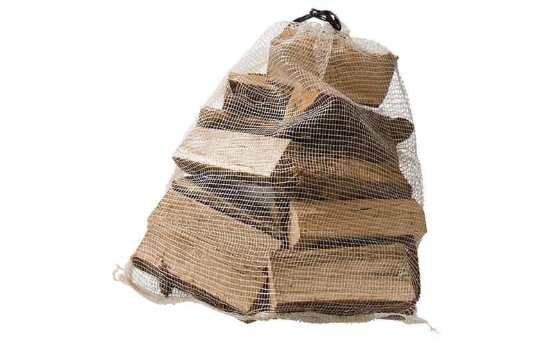 Säck med ved från Bluepack